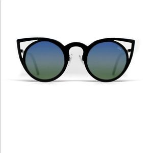 Quay invader reflective sunglasses